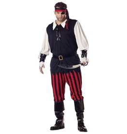California Costume Cutthroat Pirate Plus