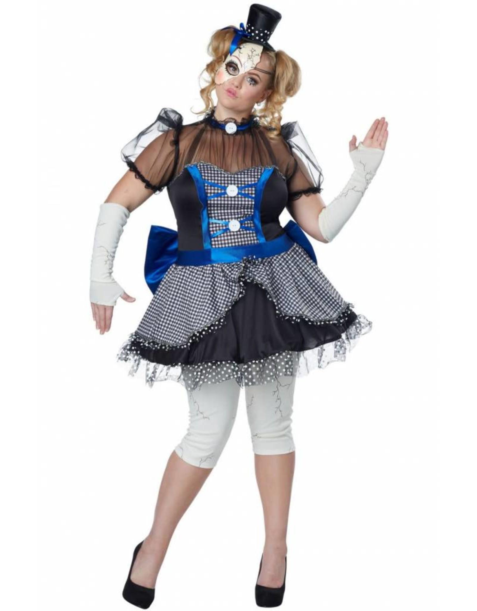 California Costume Twisted Babydoll 1X