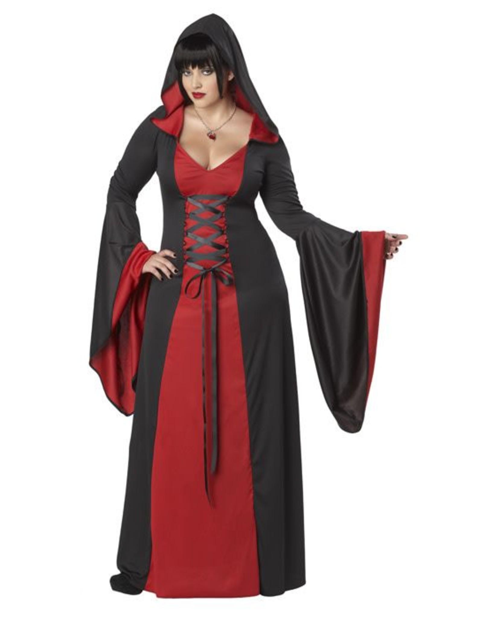 California Costume Hooded Robe 1X (16-18)