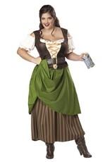 California Costume Tavern Maiden Plus