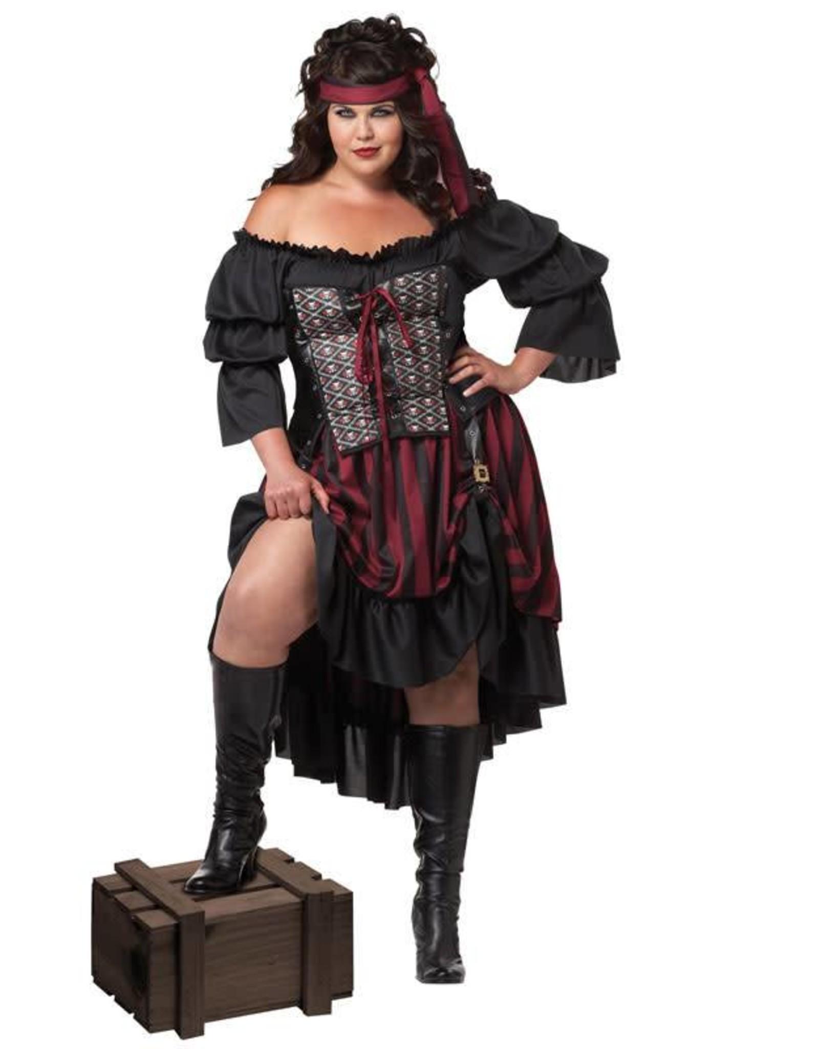 California Costume Pirate Wench 1XL (16-18)
