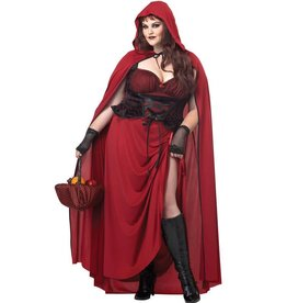 California Costume Dark Red Riding Hood 1X