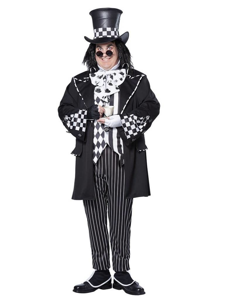 California Costume Dark Mad Hatter Plus