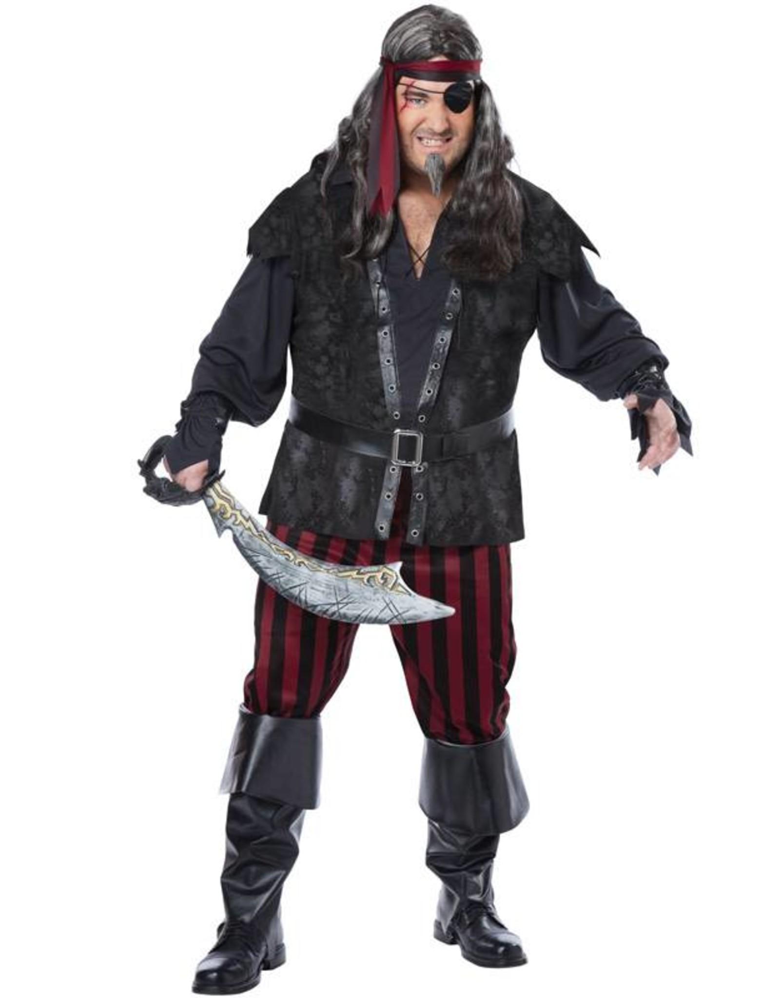 California Costume Ruthless Rogue Pirate Plus