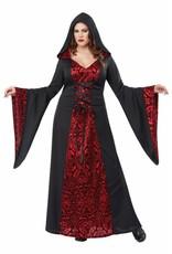 California Costume Gothic Robe Plus 1X