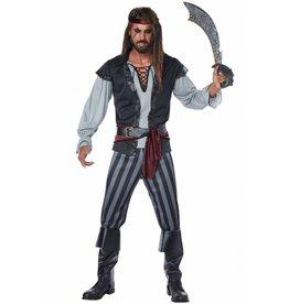 California Costume Scallywag Pirate Plus