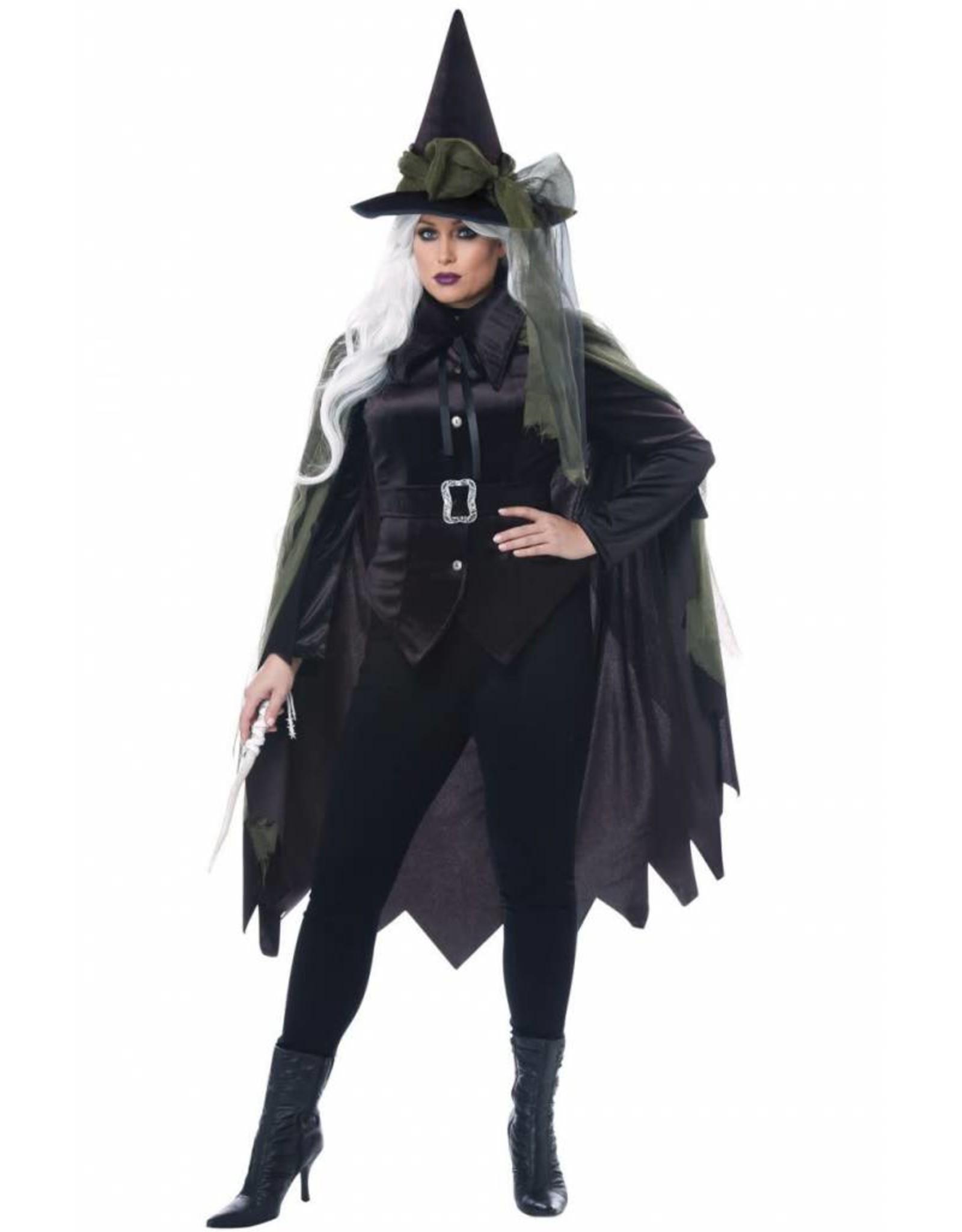 California Costume Gothic Witch Plus 1X
