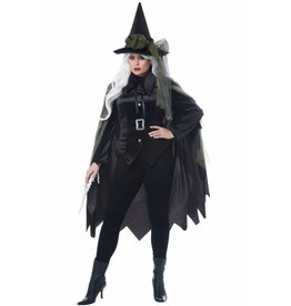 California Costume Gothic Witch Plus 1X