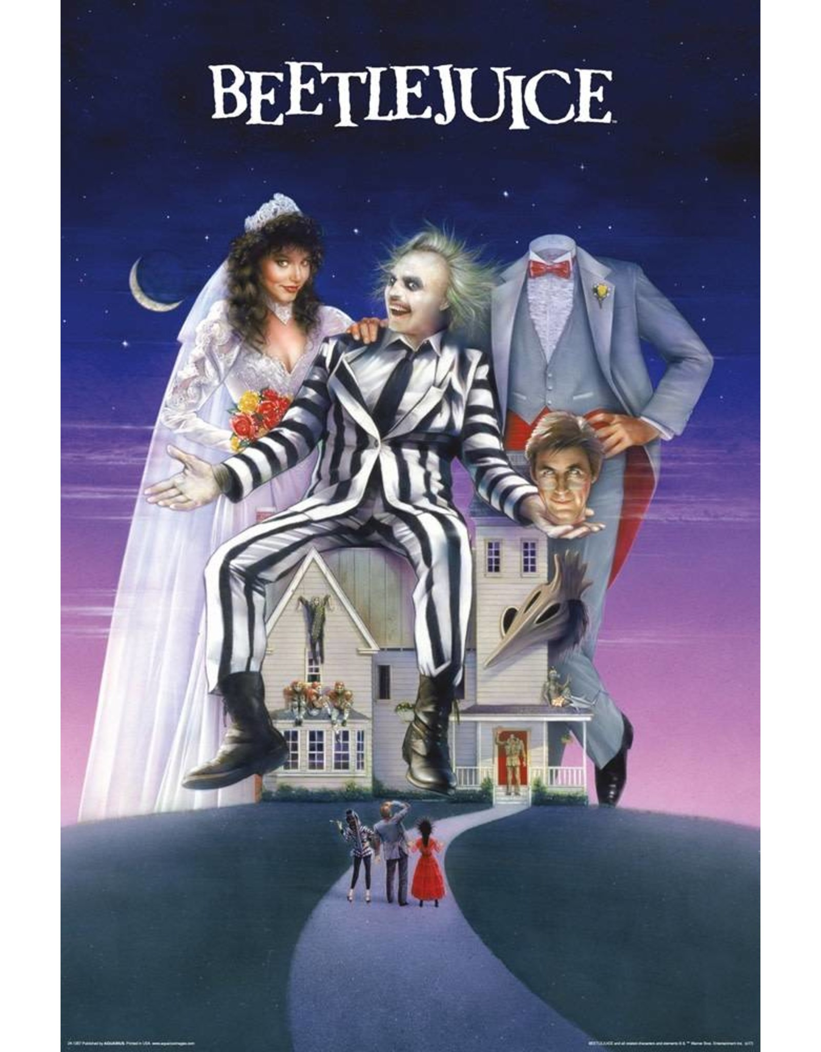 Posters Wholesale Poster - Beetlejuice House