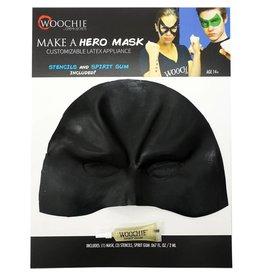 Cinema Secrets Latex Hero Mask Black