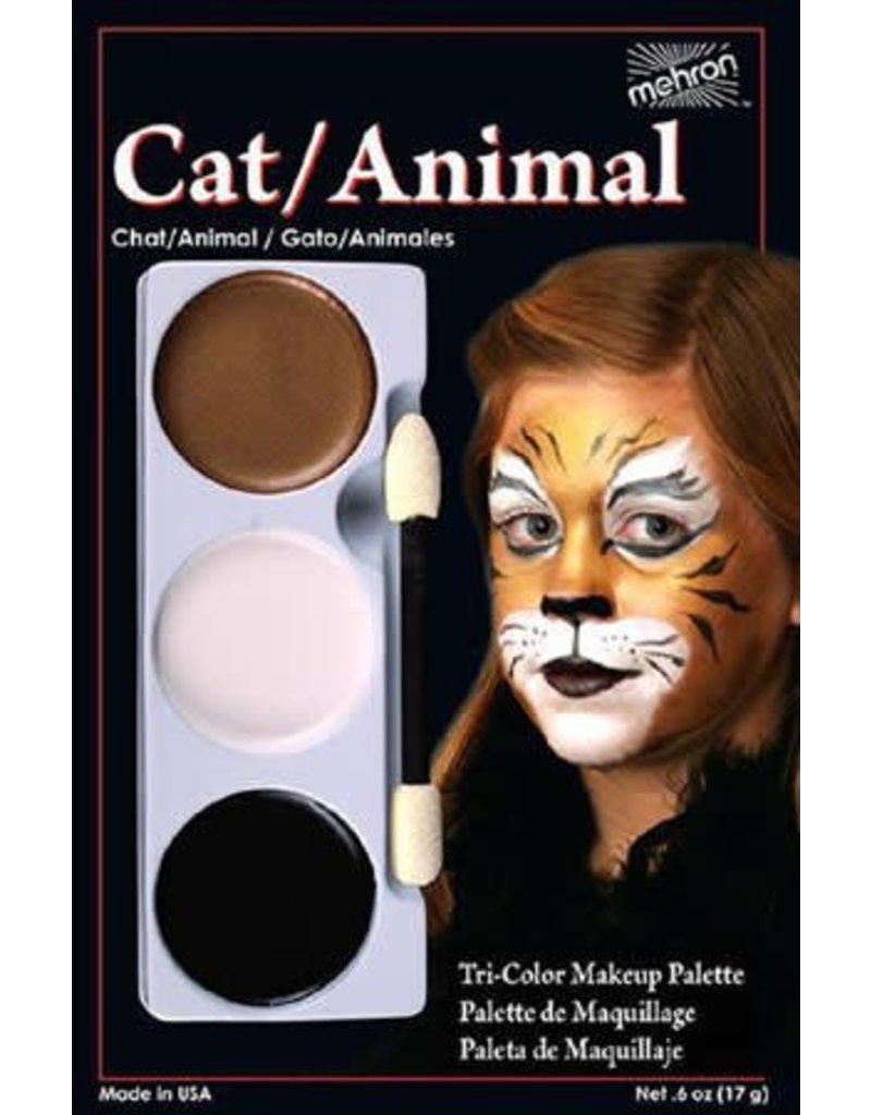 Mehron Cat Tri-Palette