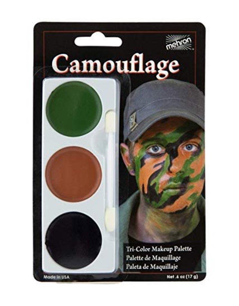 Mehron Camo Tri-Palette