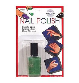Mehron Nail Polish Green
