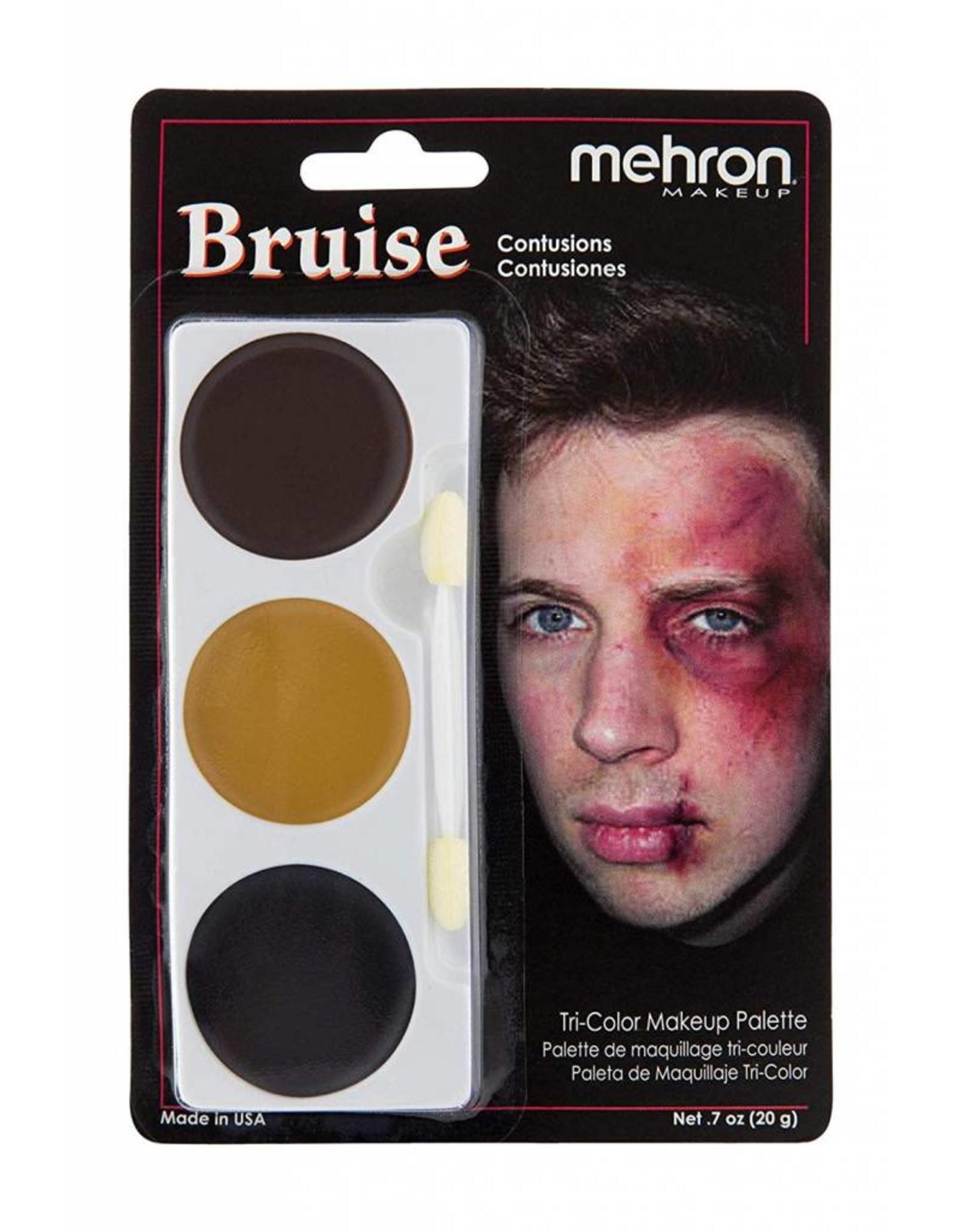 Mehron Bruise Tri-Palette