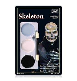 Mehron Skeleton Tri-Palette