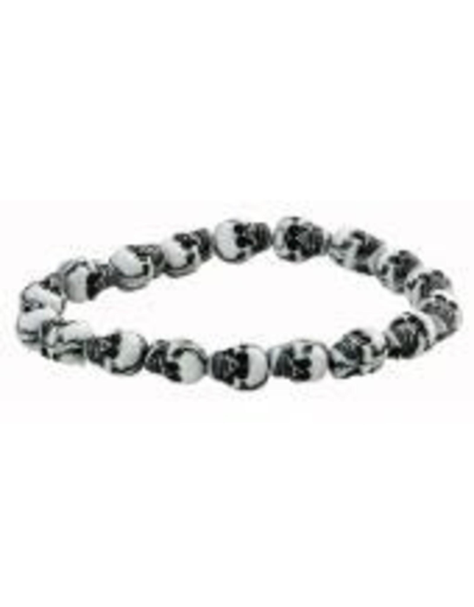 Dillon Mini Stretch Skull Bracelet