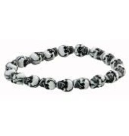 Dillon Mini Stretch Skull Bracelet