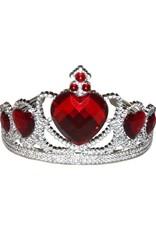 Dillon Heart Tiara Red