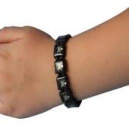 Dillon Square Skull Bracelet