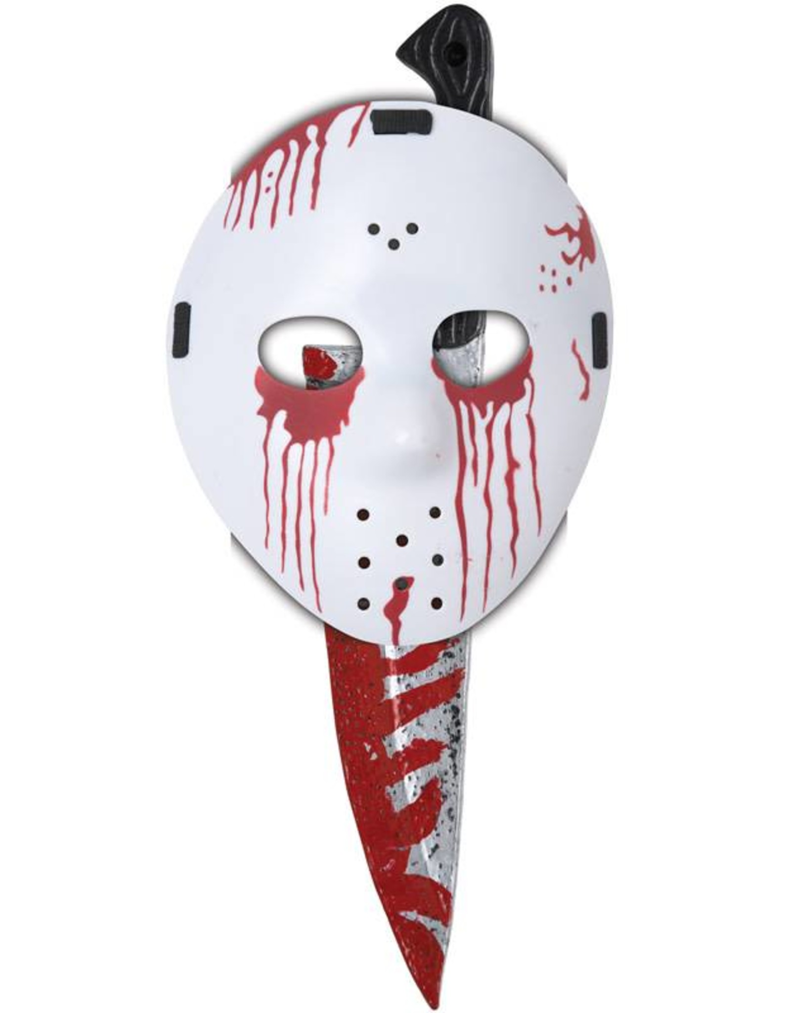 California Costume Slasher Mask & Knife