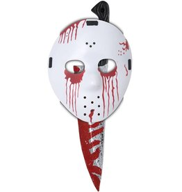 California Costume Slasher Mask & Knife