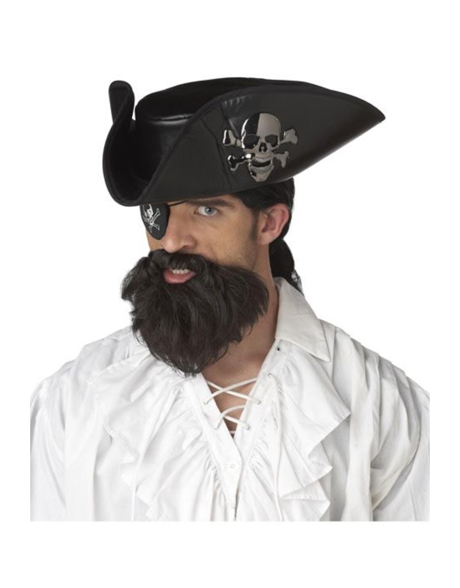 California Costume Captain Beard Brown