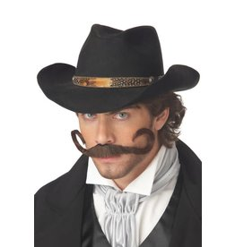 California Costume Gunslinger Moustache