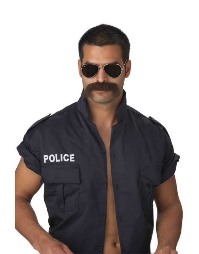 California Costume The Man Moustache
