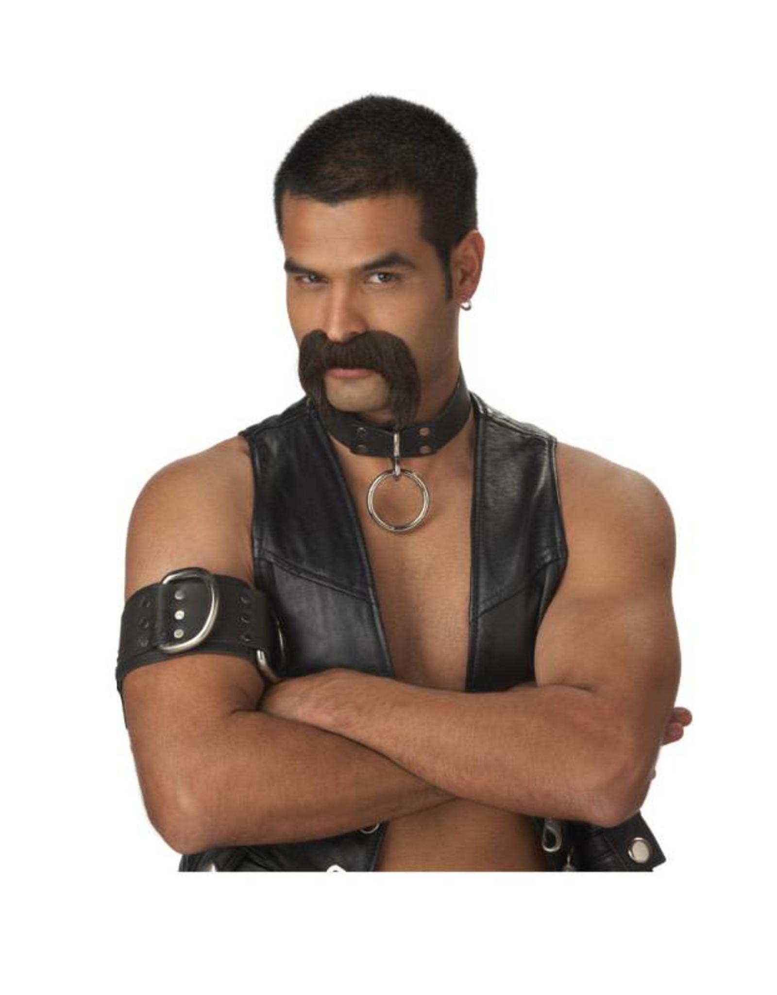 California Costume Leather Daddy Moustache