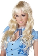 California Costume Coquette Wig Blonde