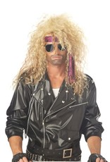 California Costume Heavy Metal Wig Blonde