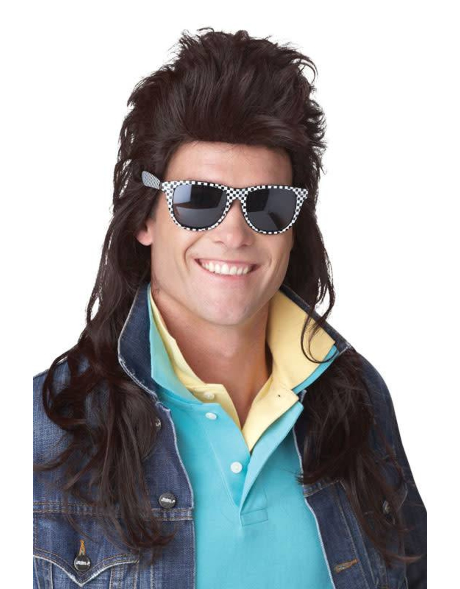 California Costume 80's Rock Mullet