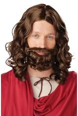 California Costume Jesus Wig & Beard