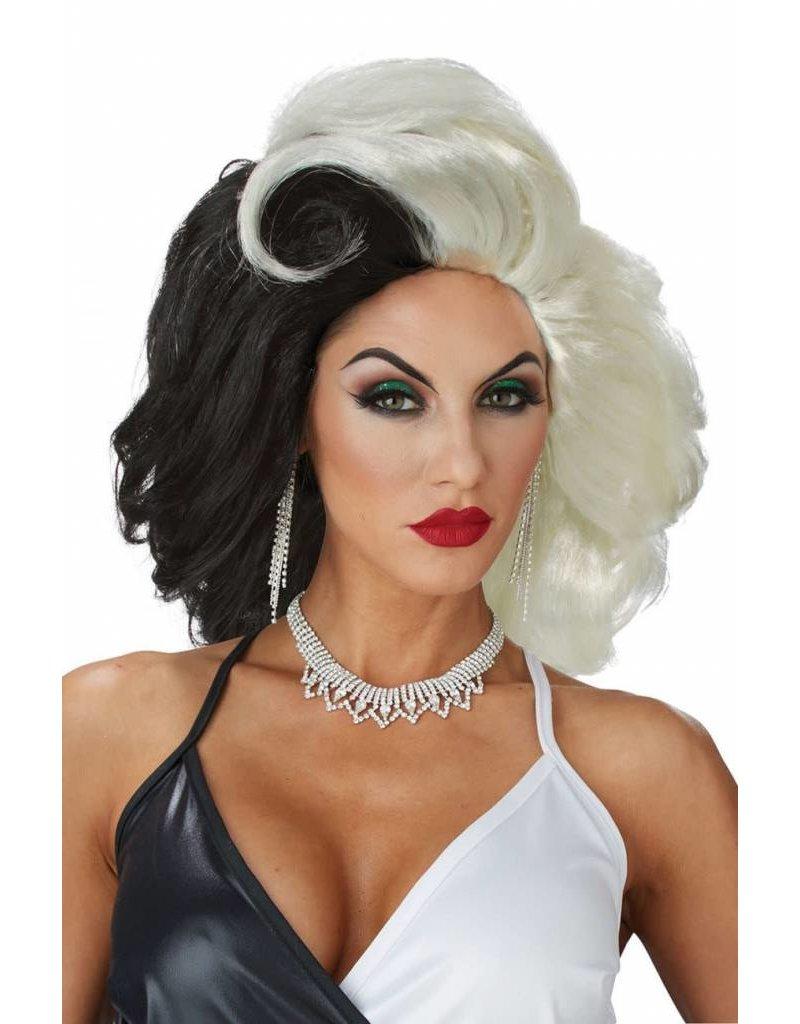 California Costume Cruel Diva Wig