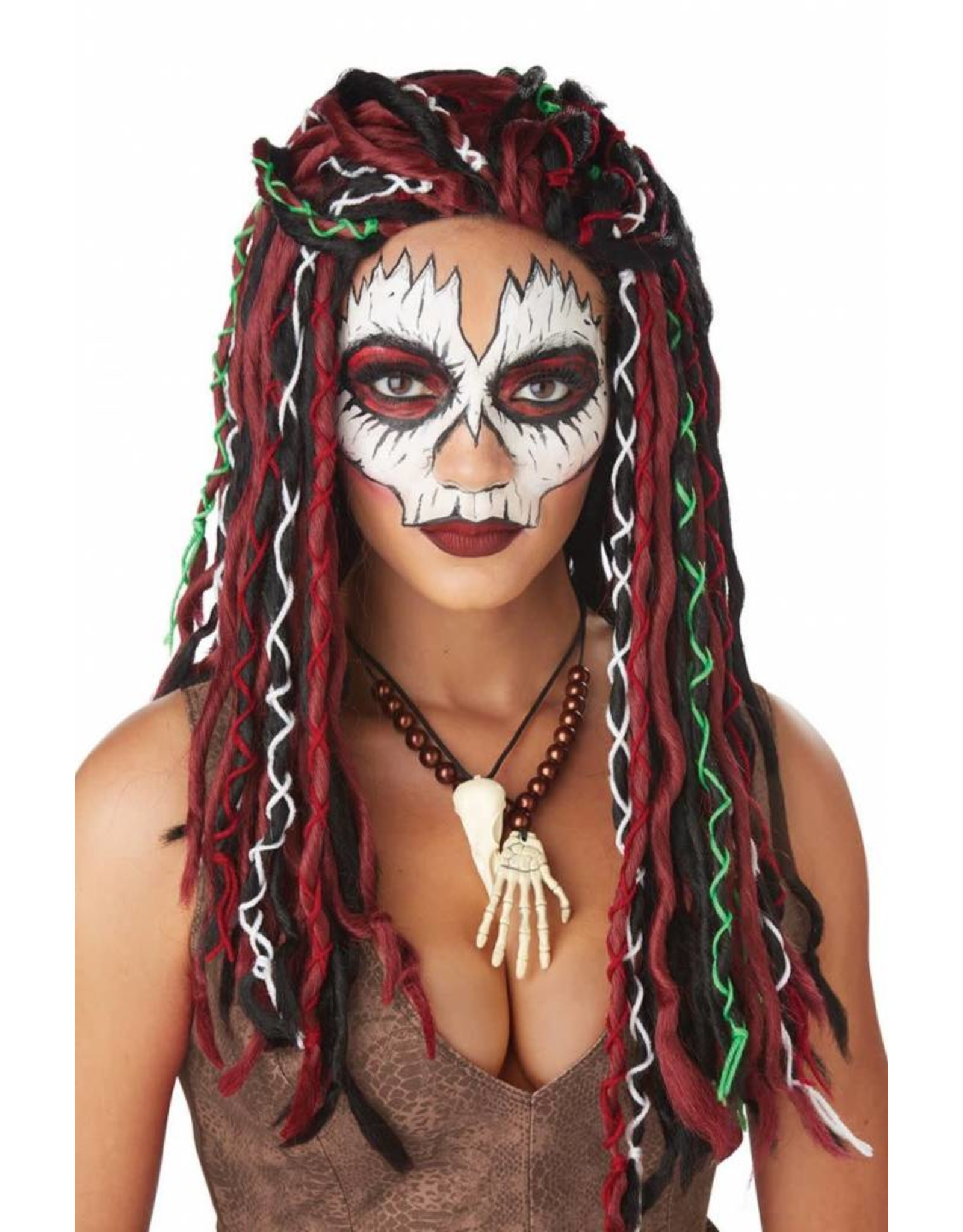 California Costume VooDoo Priestess Wig