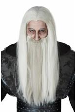 California Costume Dark Wizard Wig