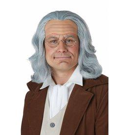 California Costume Ben Franklin Wig