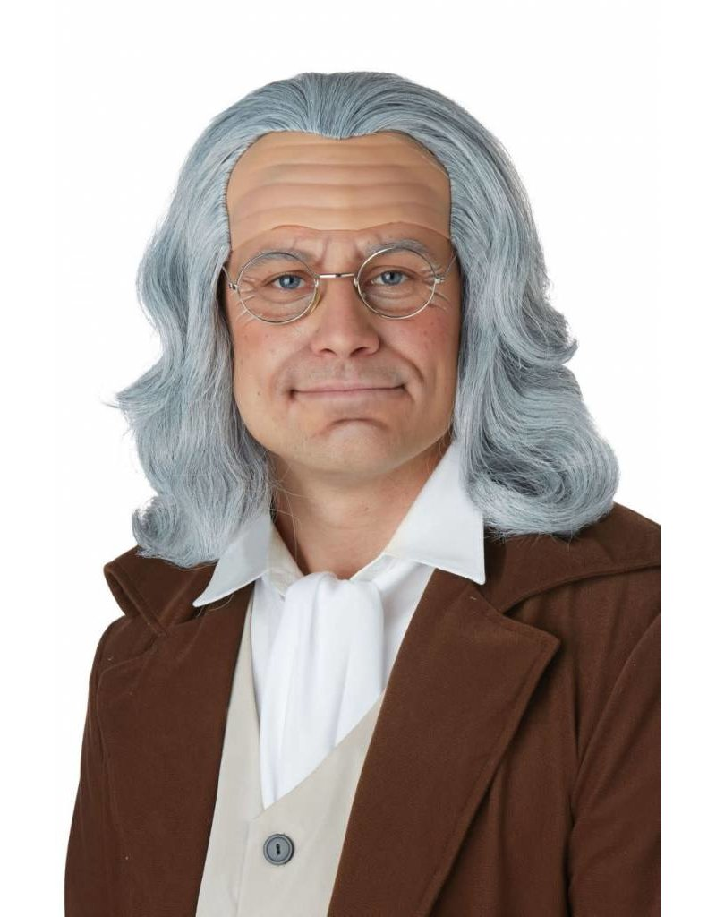California Costume Ben Franklin Wig