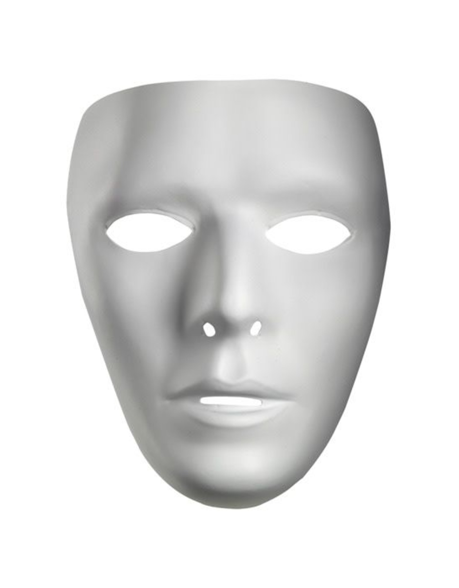 Disguise Blank White Mask