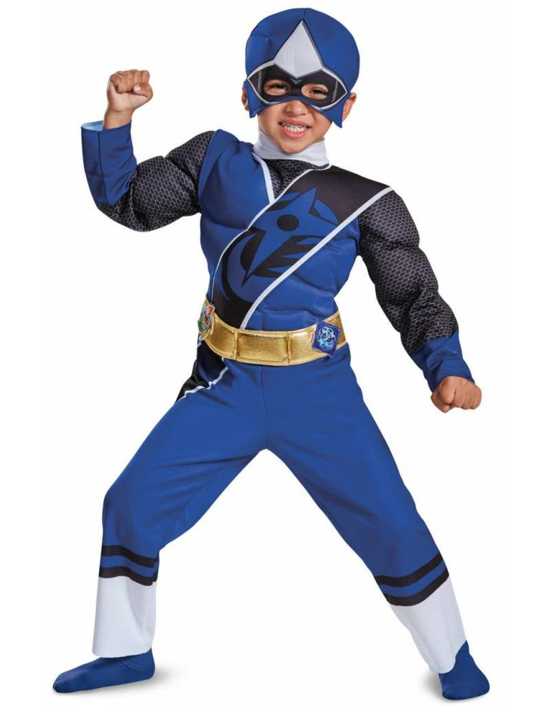 Disguise Blue Power Ranger S (2T)