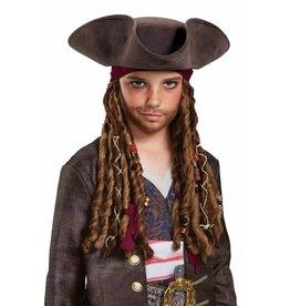 Disguise Jack Hat/Braids Child