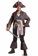 Disguise Jack Sparrow Deluxe Plus