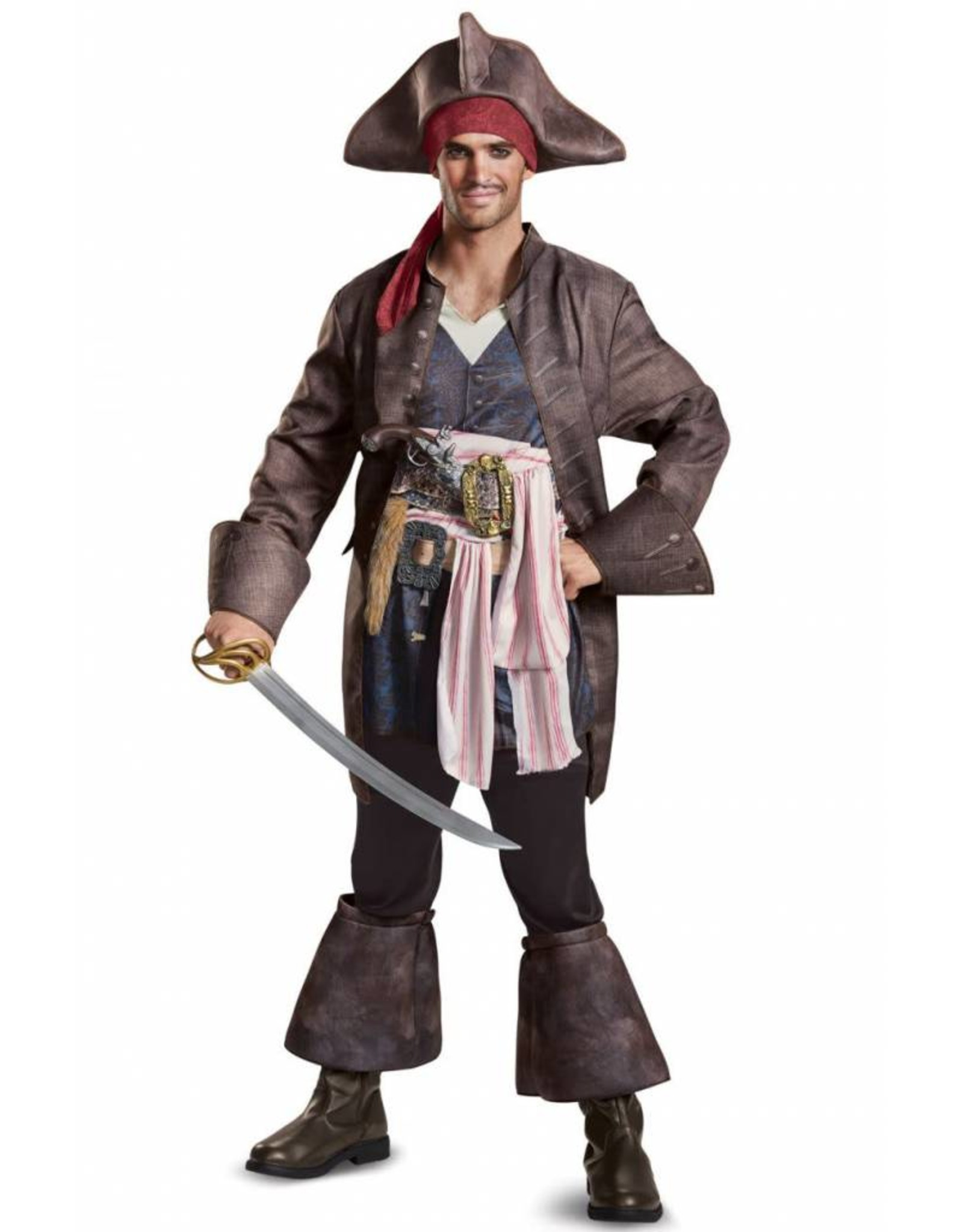 Disguise Jack Sparrow Deluxe Adult