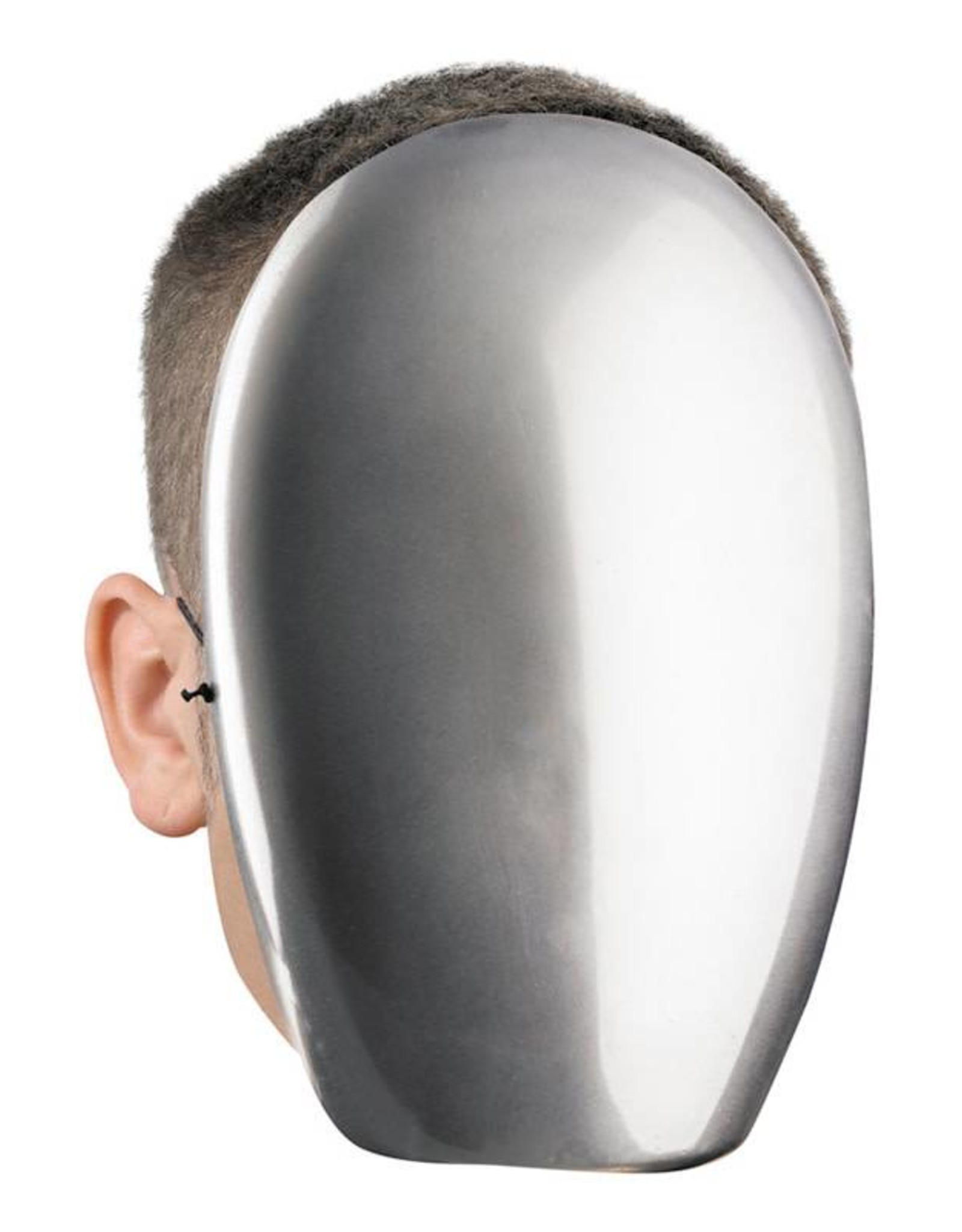 Disguise No Face Chrome Mask