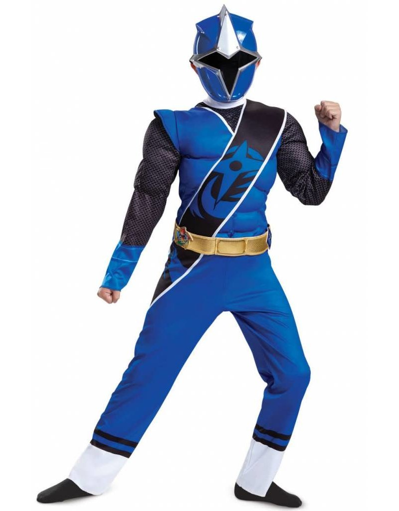 Disguise Blue Ranger Ninja Steel