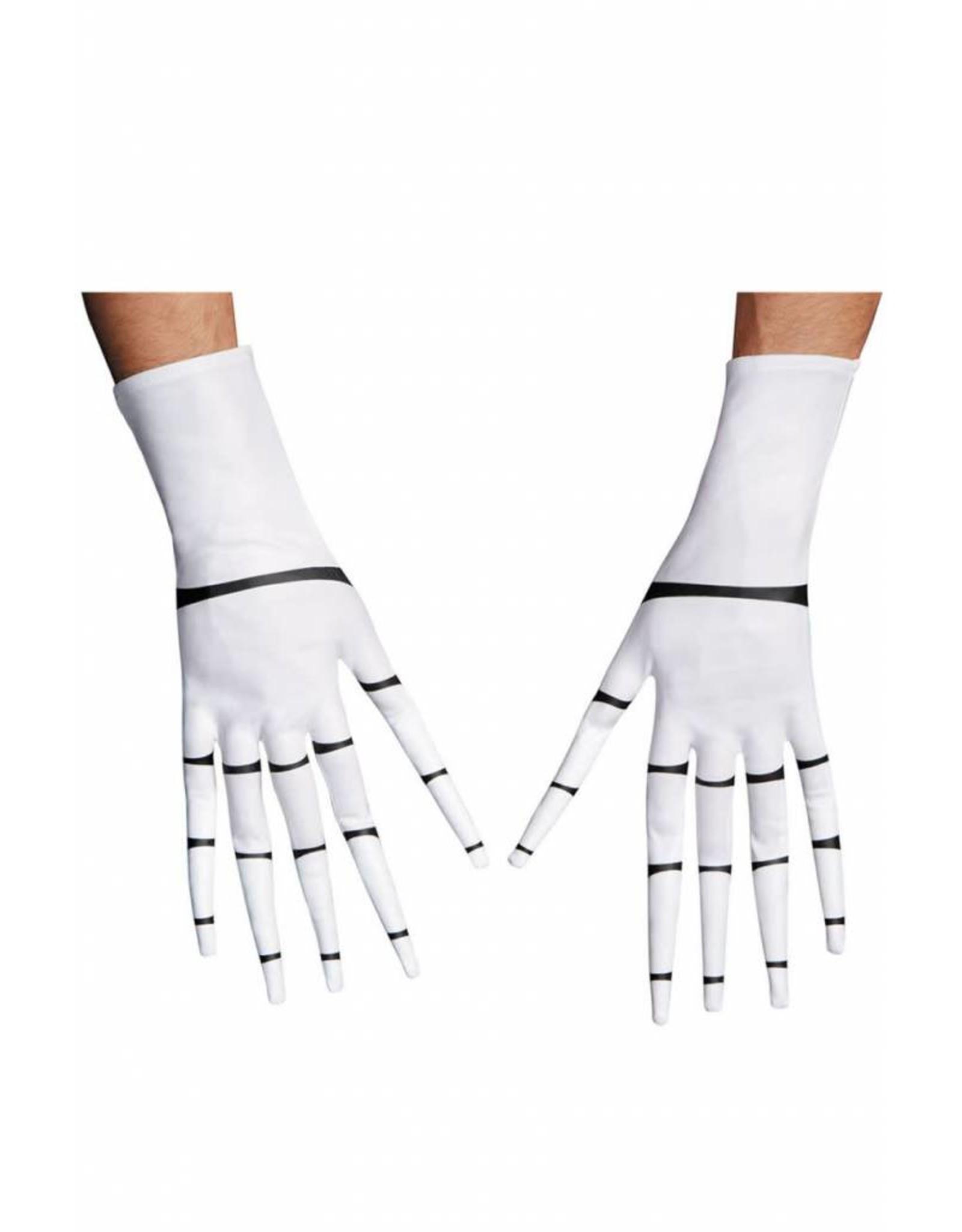 Disguise Jack Skellington Gloves