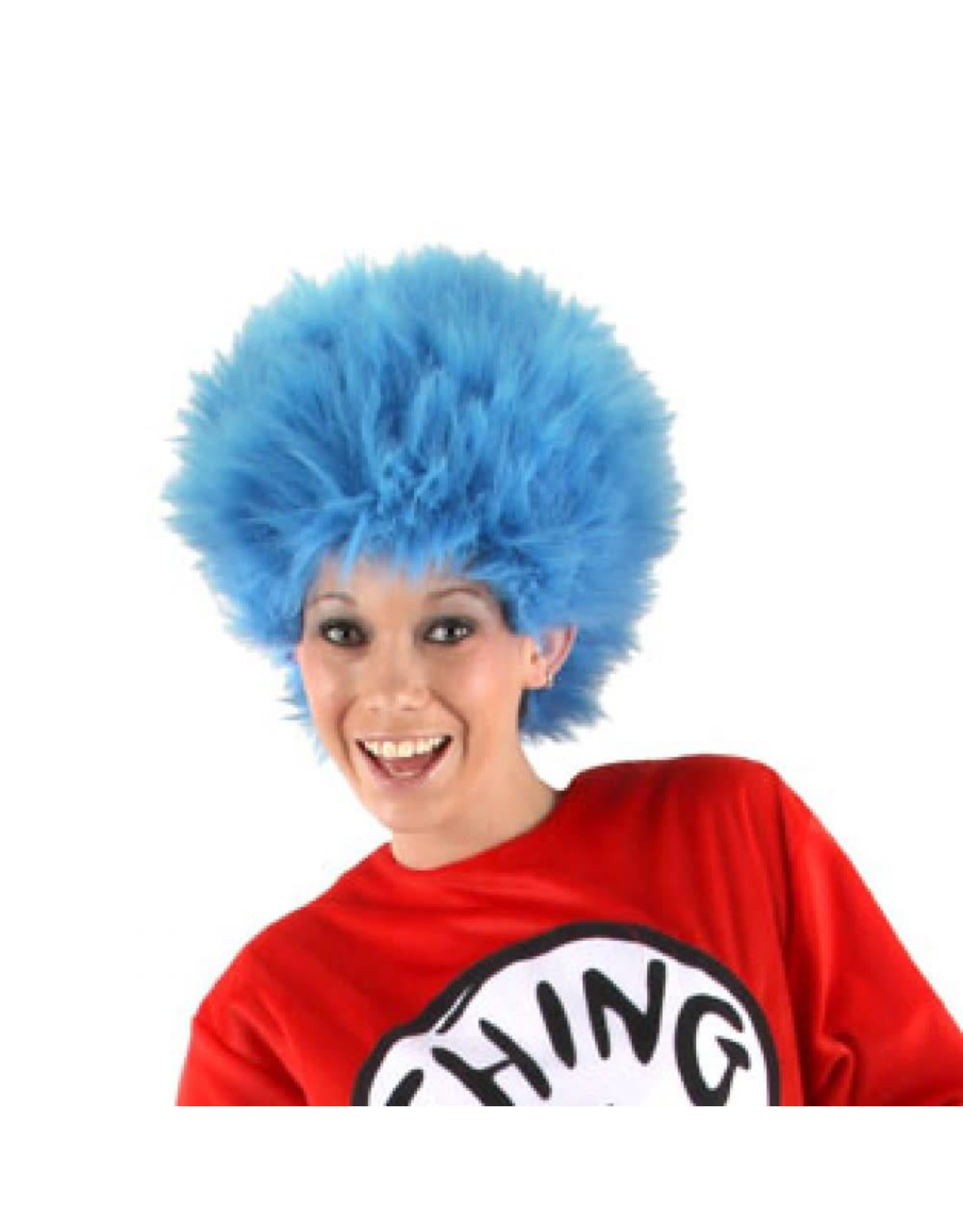 Elope Seuss Thing Blue Wig