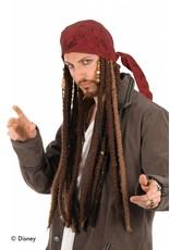 Elope Jack Sparrow Movie Scarf/Dreads