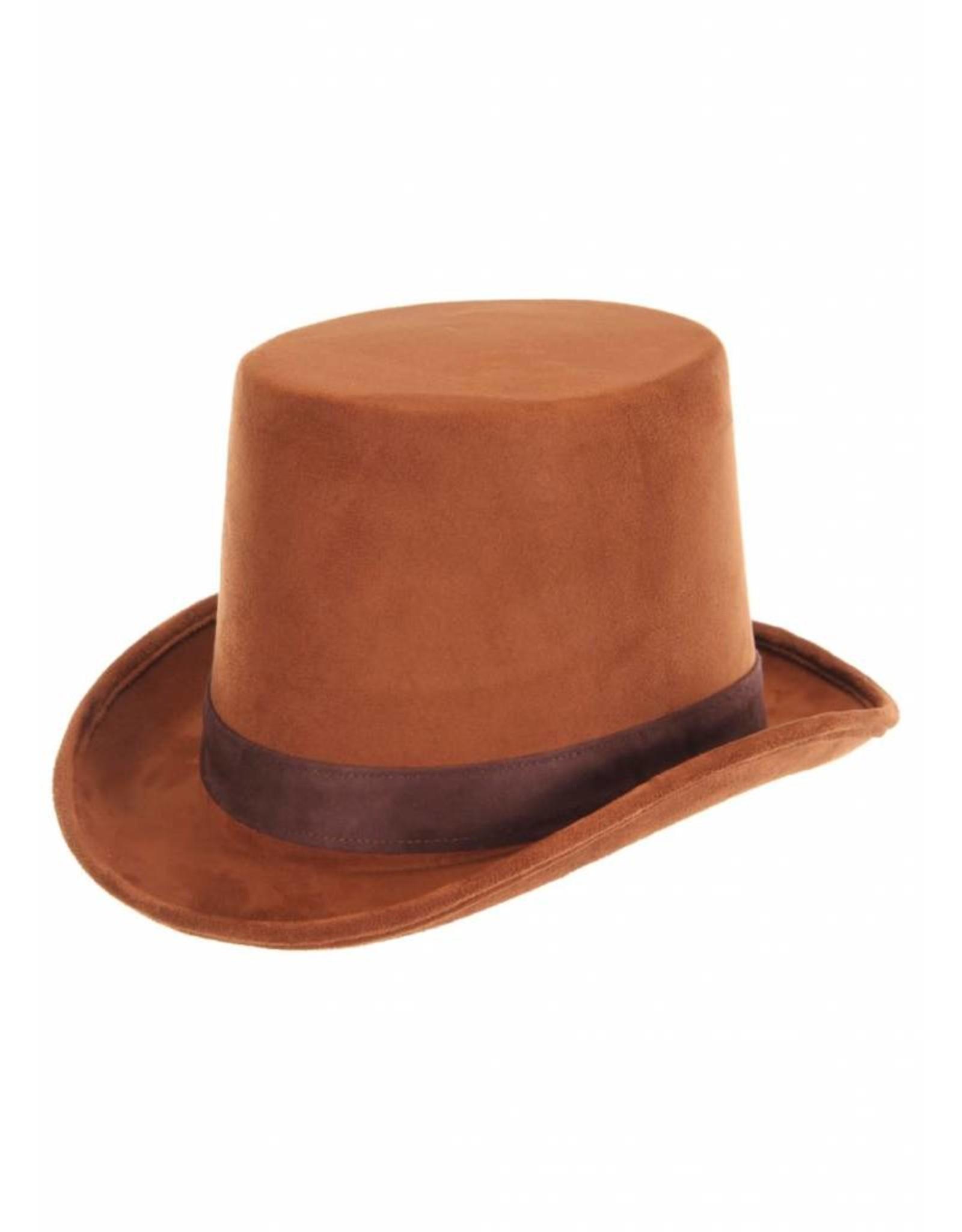 Elope Coachman Brown Hat
