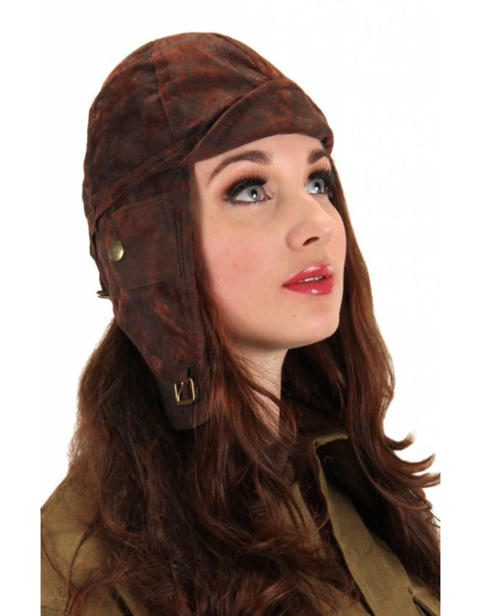 Elope Aviator Brown Hat